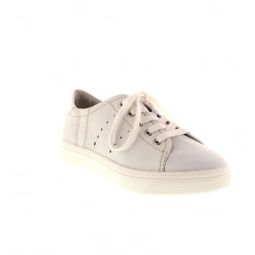 Remonte R7802-80 Ladies White Lace shoes