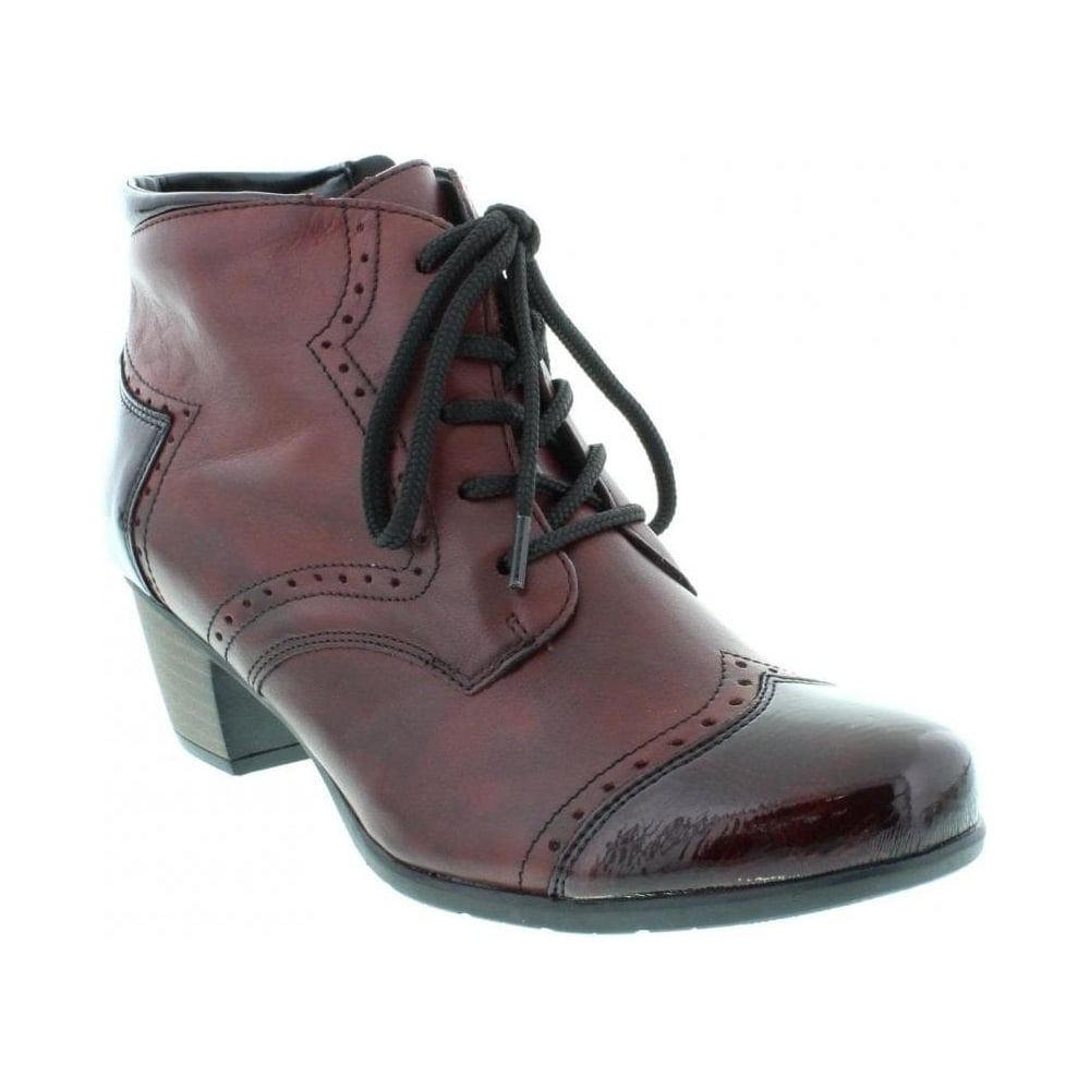 Remonte R9170-35 Ladies Red Lace Up