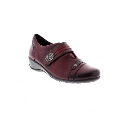 Remonte R9813-35 Ladies Red Shoe