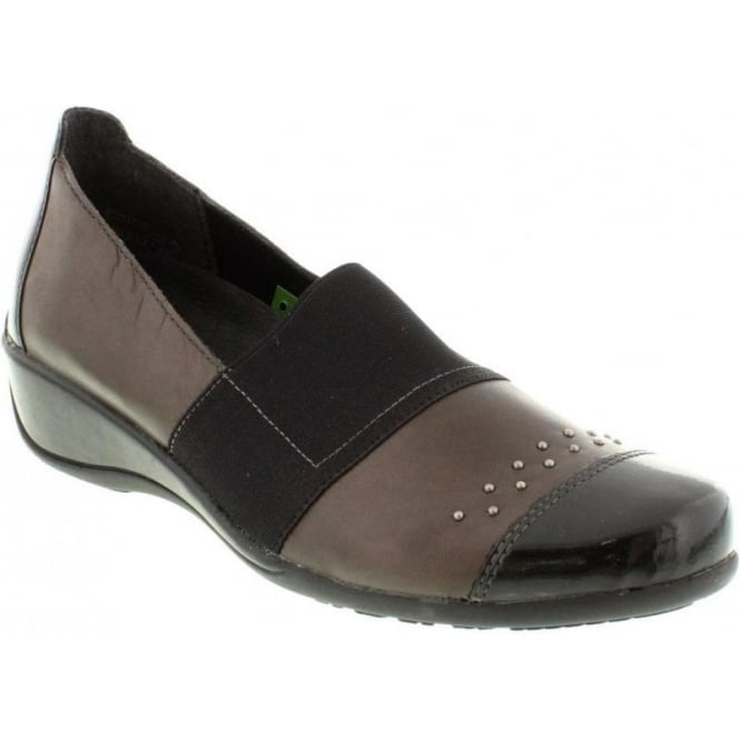 Remonte R9821-45 Ladies Brown Combination Slip on