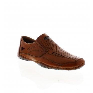 8966cd5ac62 06356-24 Men s Brown Slip On Shoes