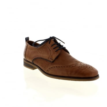 Rieker 10612-25 Mens Brown Lace shoes