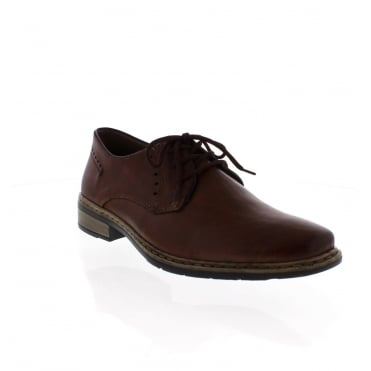 Rieker 10822-24 Mens Brown lace up shoe