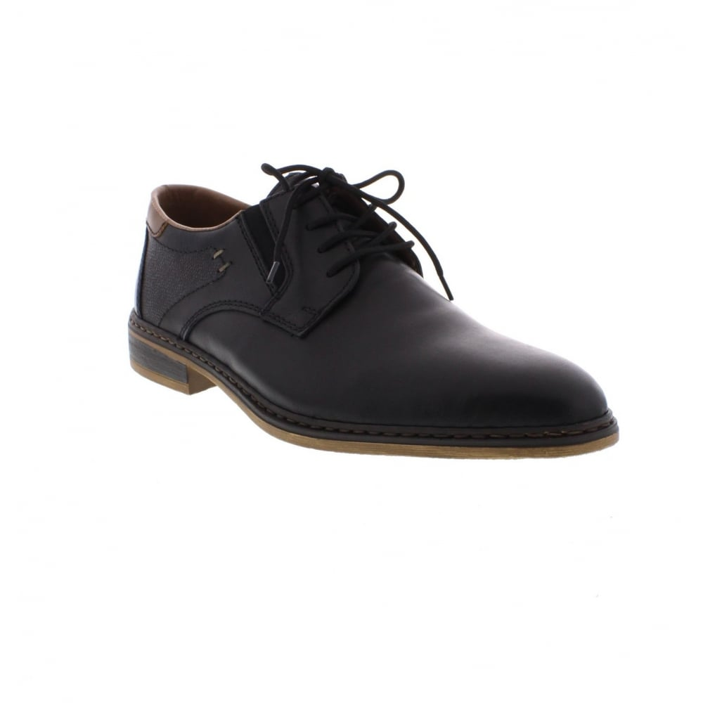 a4cb9a6fa5fe9 Rieker 11402-00 Men's Black Lace up shoes - Rieker Mens from Rieker UK