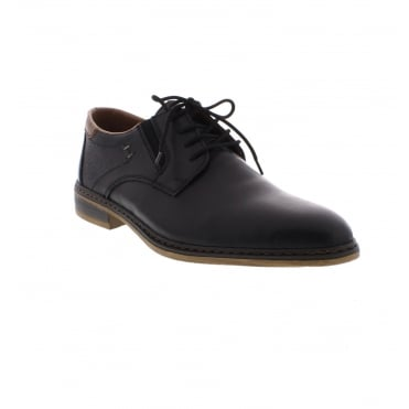 11402-00 Men's Black Lace up shoes