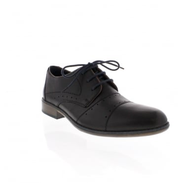 Rieker 11811-00 Mens Black Shoe