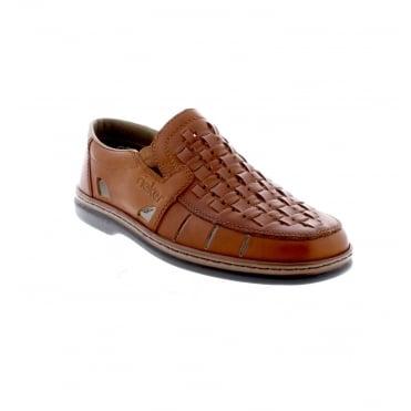 d176705b79 Rieker 12389-24 Men s Brown Slip On Shoes