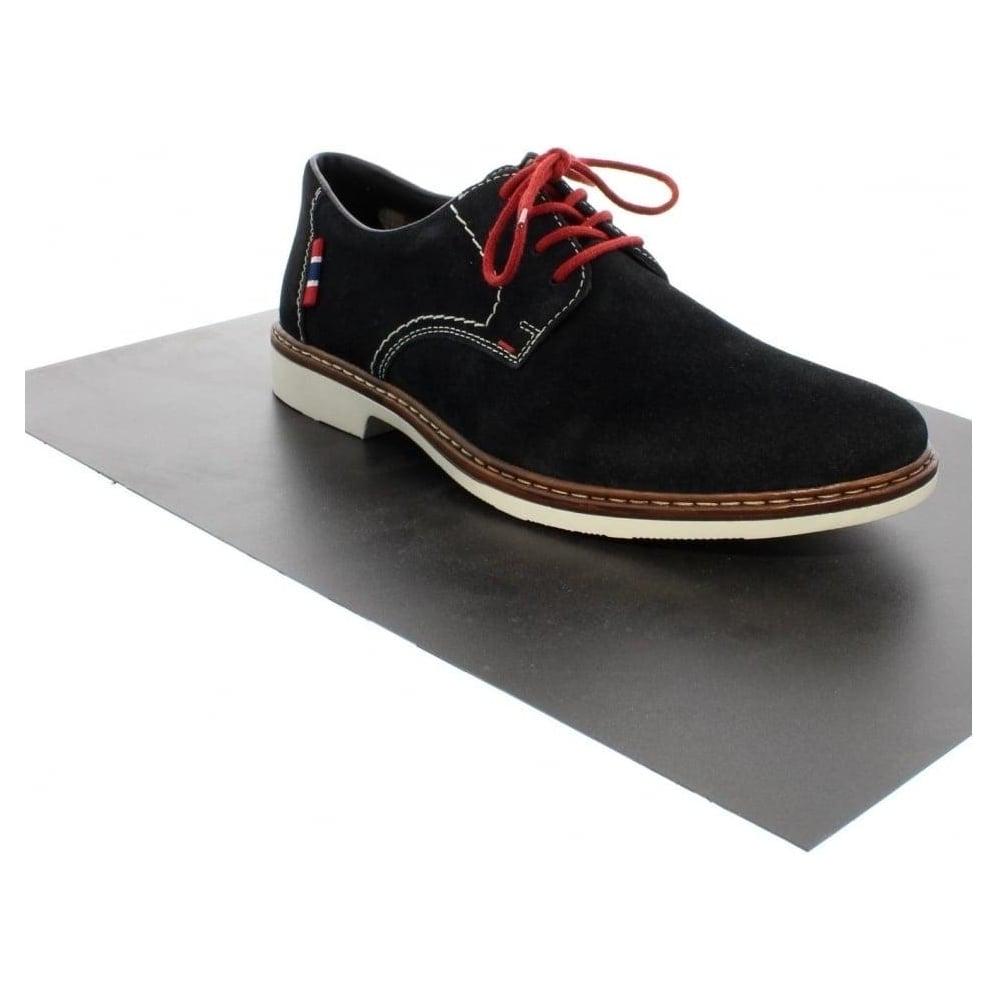 rieker 1301214 mens blue lace shoes rieker mens from