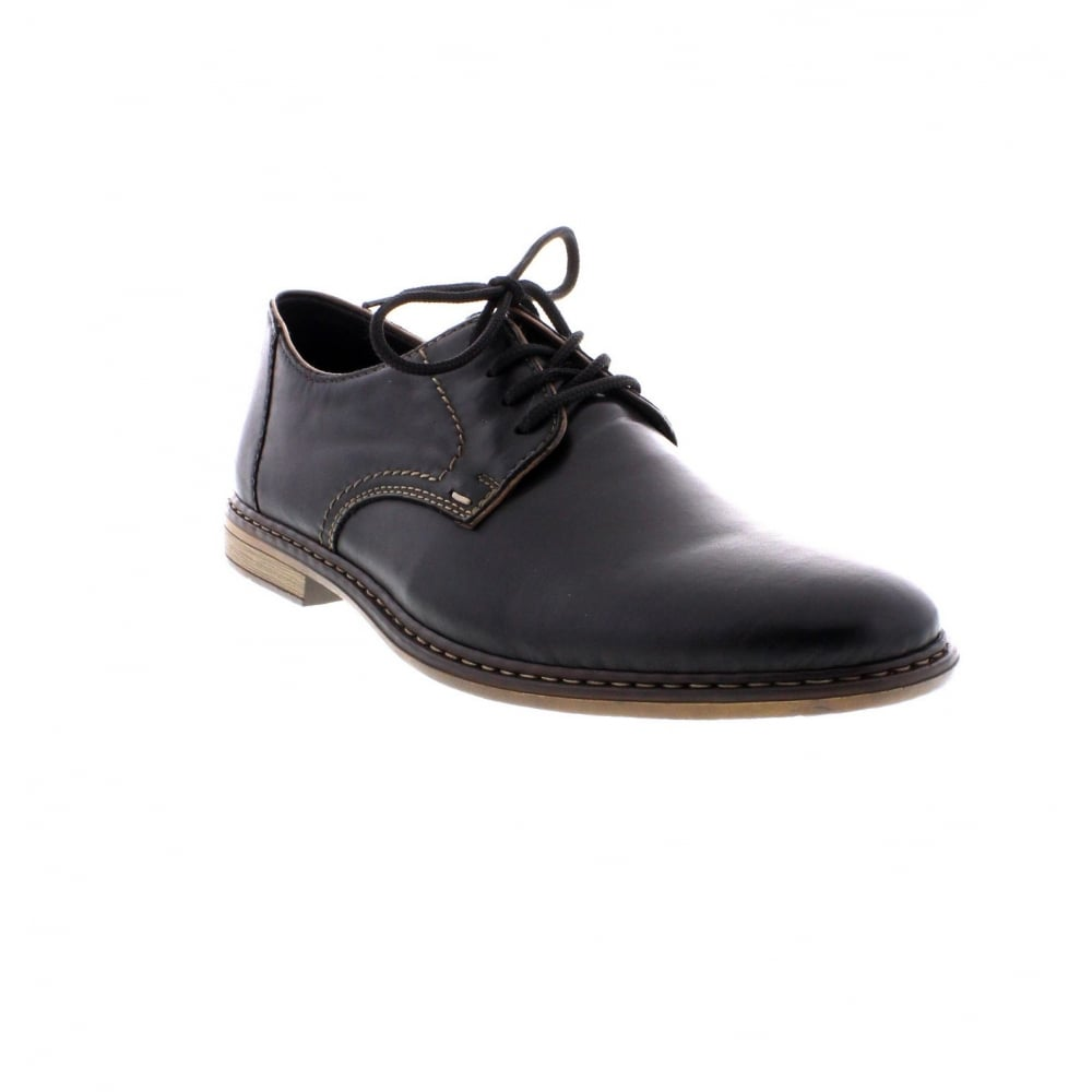 c0daf37199e92 Rieker 13422-01 Men's Black Lace Up Shoes - Rieker Mens from Rieker UK