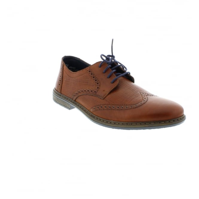Rieker 13424-25 Mens Brown Lace shoes