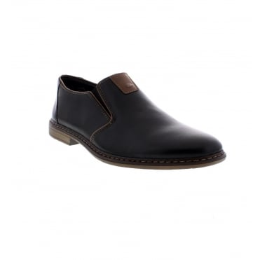 Rieker 13462-00 Men's Black Slip on shoes