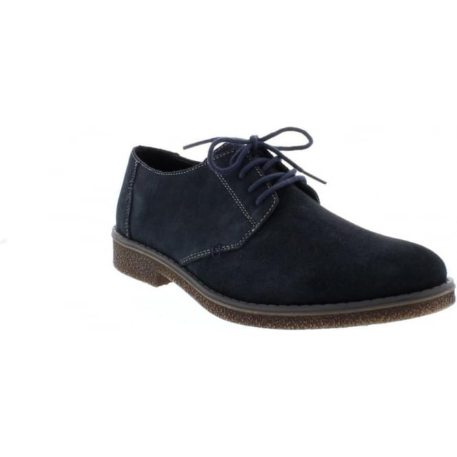 Rieker 13810-14 Mens Blue Lace Up shoes