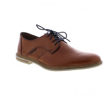 Rieker 14525-24 Men's Brown Lace up shoes