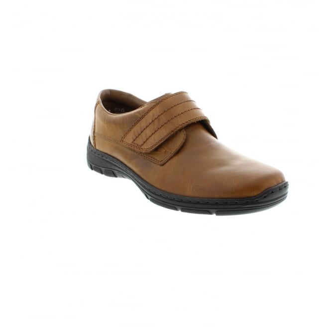 Rieker 15262-25 Mens Brown Velcro shoes