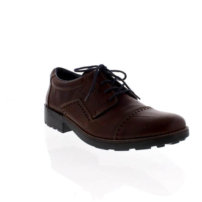 Rieker 16002-26 Mens Brown Lace Up