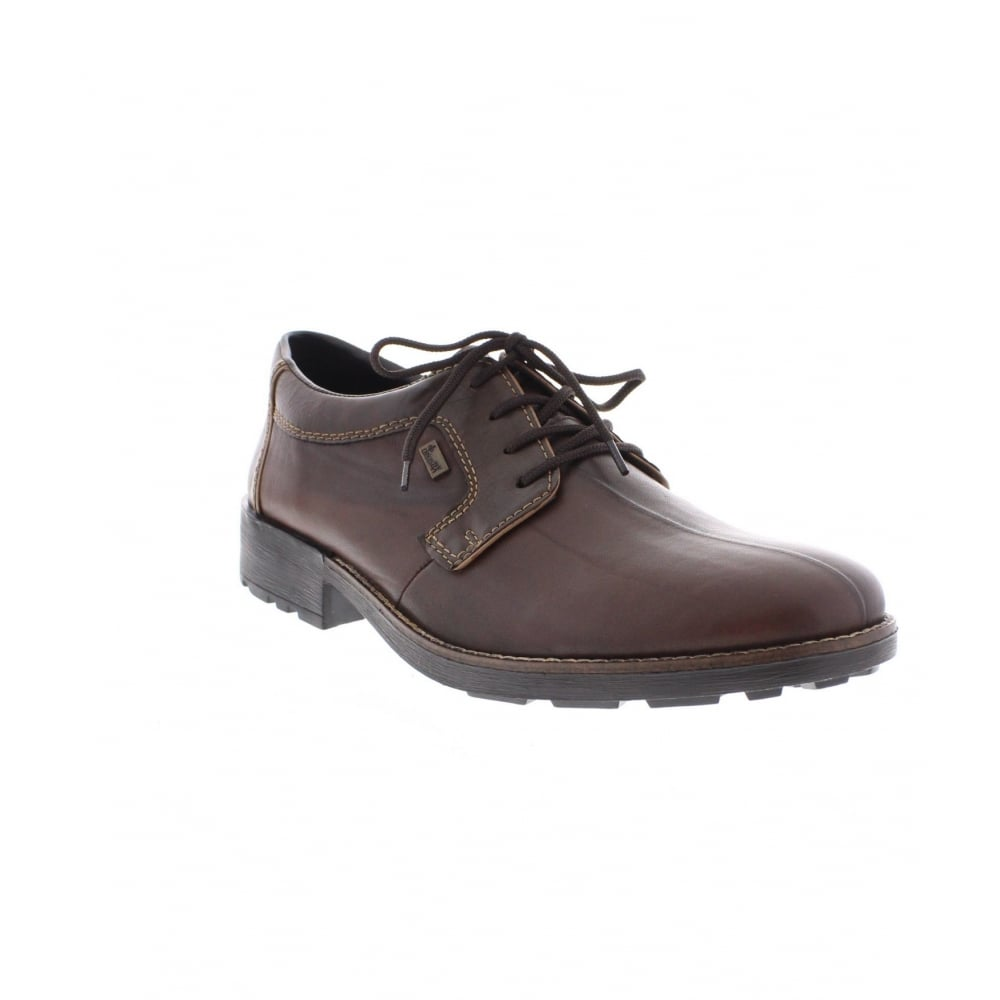 rieker 16024 25 mens brown lace up shoe rieker mens from