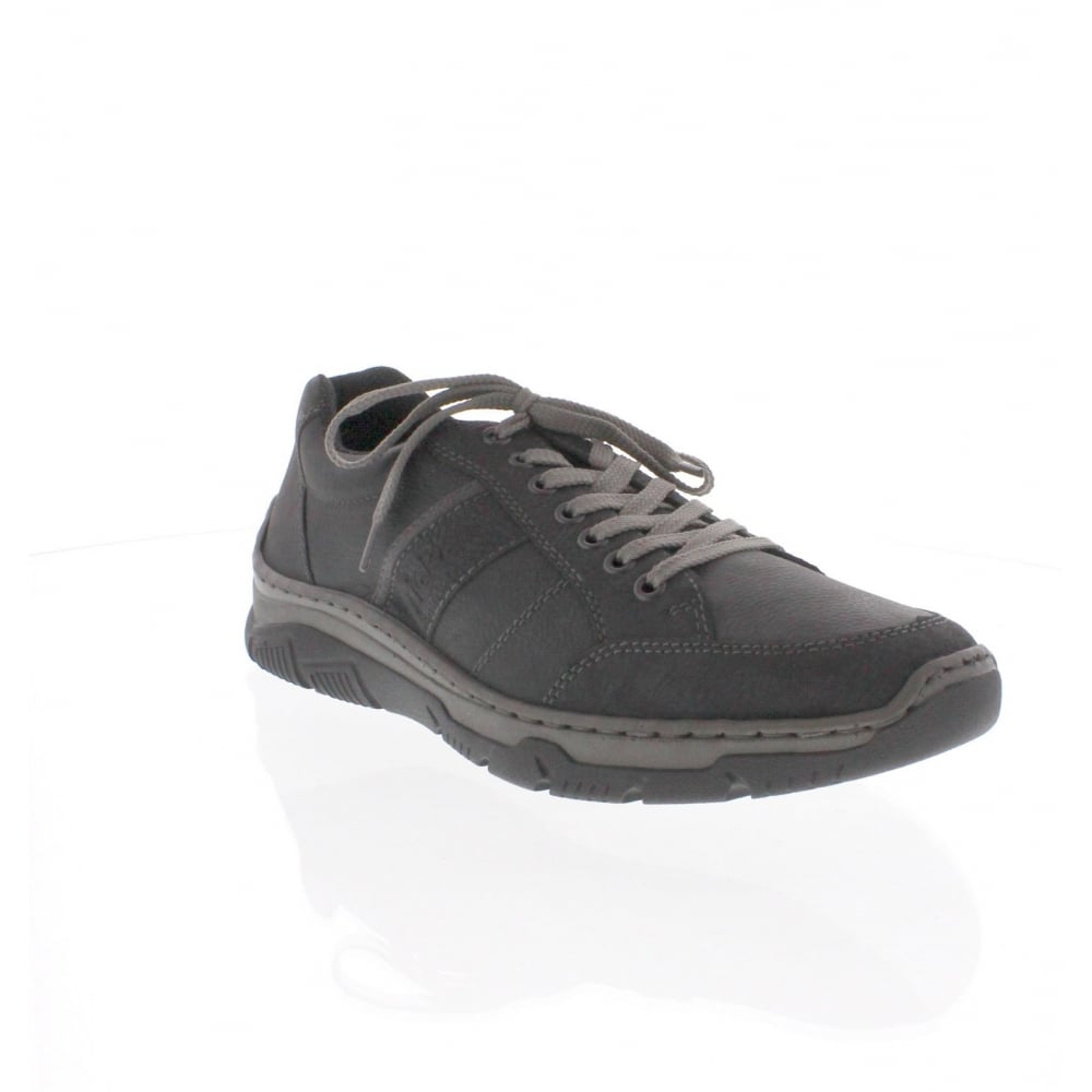 16921 00 Mens Black Trainer Shoe
