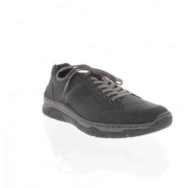 Rieker 16921-00 Mens Black Trainer Shoe