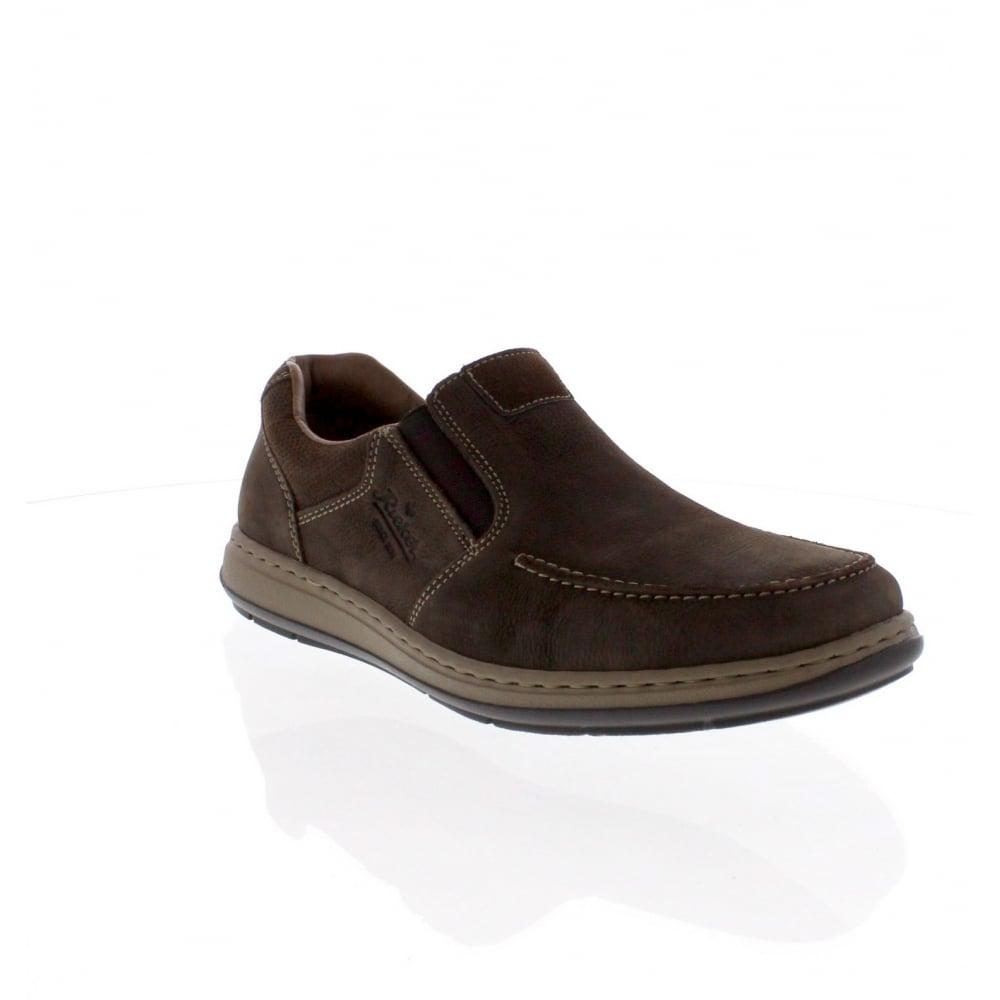 Rieker 17361 25 Mens Brown Slip On Shoe Rieker Mens From