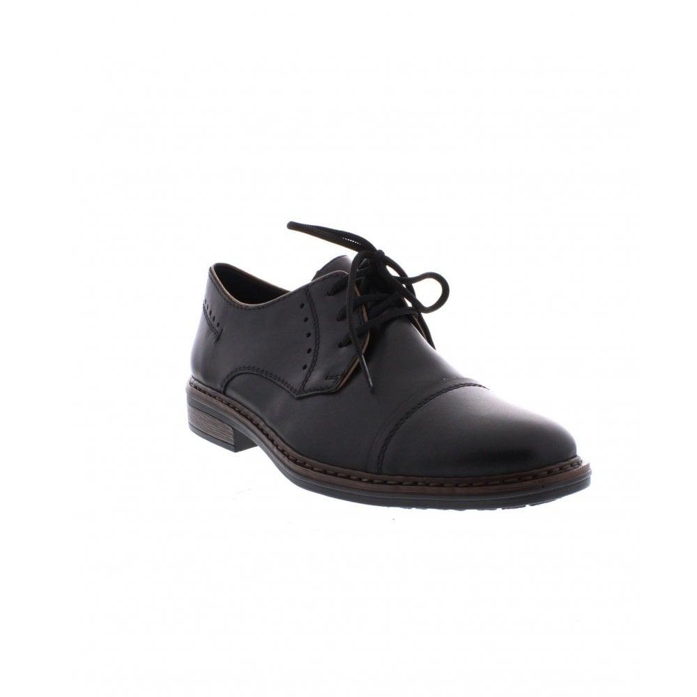 Rieker 17617 00 Mens Black Shoes Rieker Mens From Rieker Uk