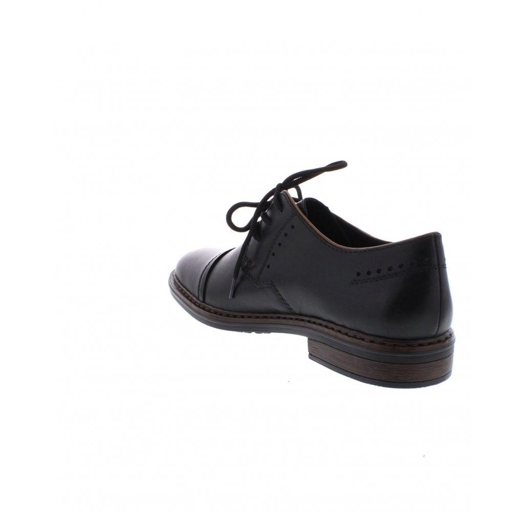 1db9f73c325 Rieker 17617-00 Mens black shoes - Rieker Mens from Rieker UK