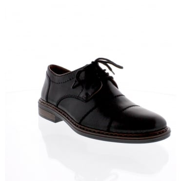 Rieker 17623-00 Mens black formal shoe