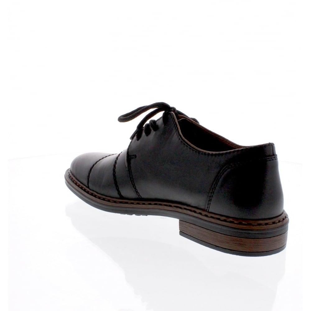6414ebd3ab7 Rieker 17623-00 Mens black formal shoe - Rieker Mens from Rieker UK