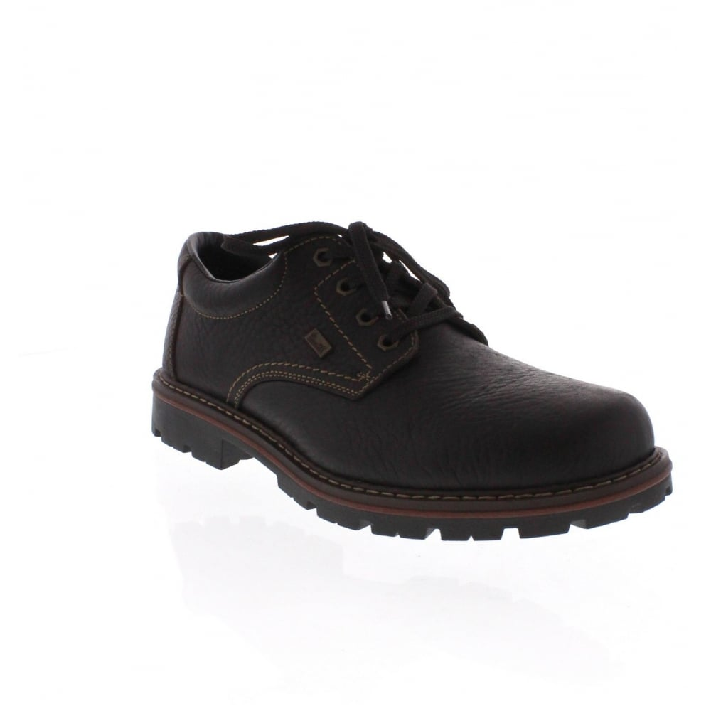 rieker 17710 25 mens brown lace up shoe rieker mens from