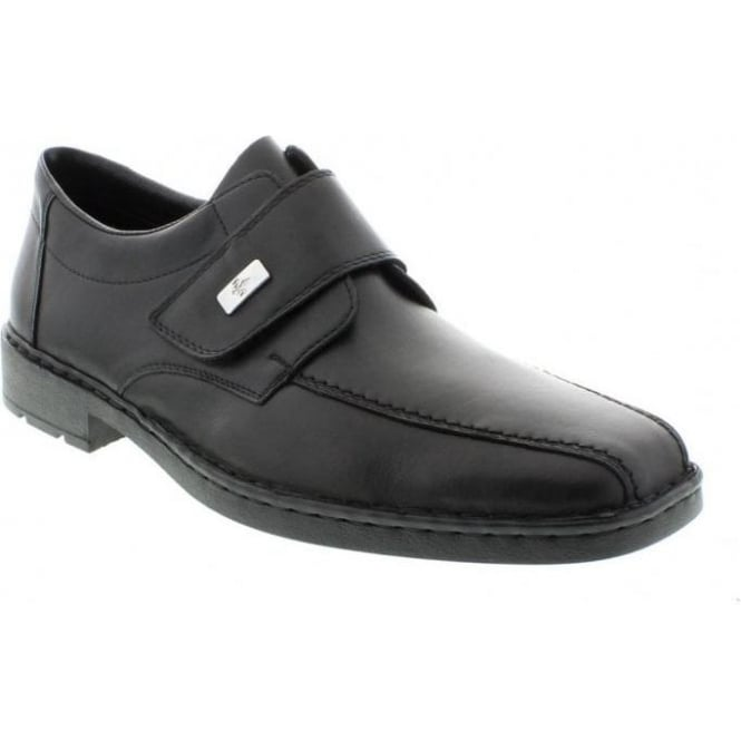 Rieker 18853-00 Mens Black Velcro shoes
