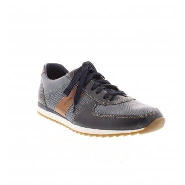 07c4f87371 19331-14 Men s Blue Combination Lace Up Shoes