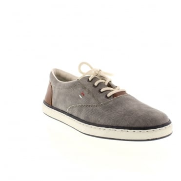 Rieker 19650-40 Mens Grey Lace shoes