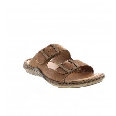 fe7e4db6831e 22056-24 Men s Brown Sandals