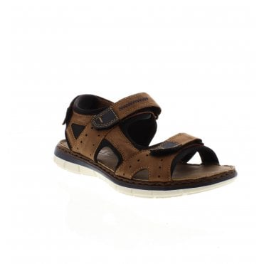 c8963f2ced4c 25159-24 Men s Brown Sandals · Rieker ...