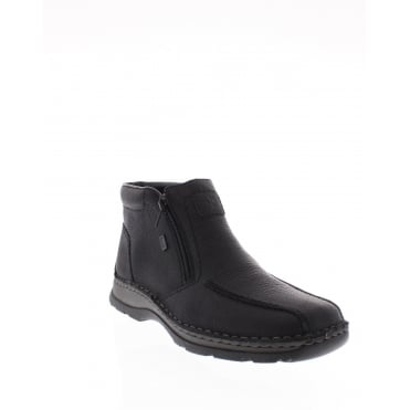 Rieker 32363-00 Mens black Rieker 'Tex' boot