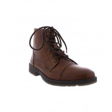 c79146b7806e0 Rieker 33302-25 Mens Brown Ankle boots