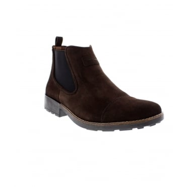 Rieker 36063-26 Mens Brown Ankle Boot