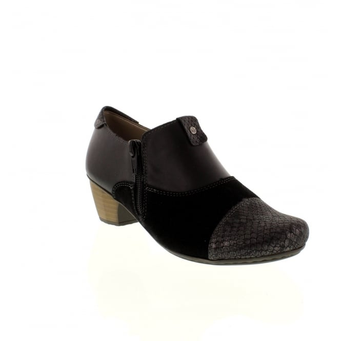 Rieker 41781-00 Ladies Black Slip on shoes