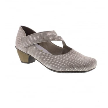 41793-42 Ladies' hook and loop fastening shoes