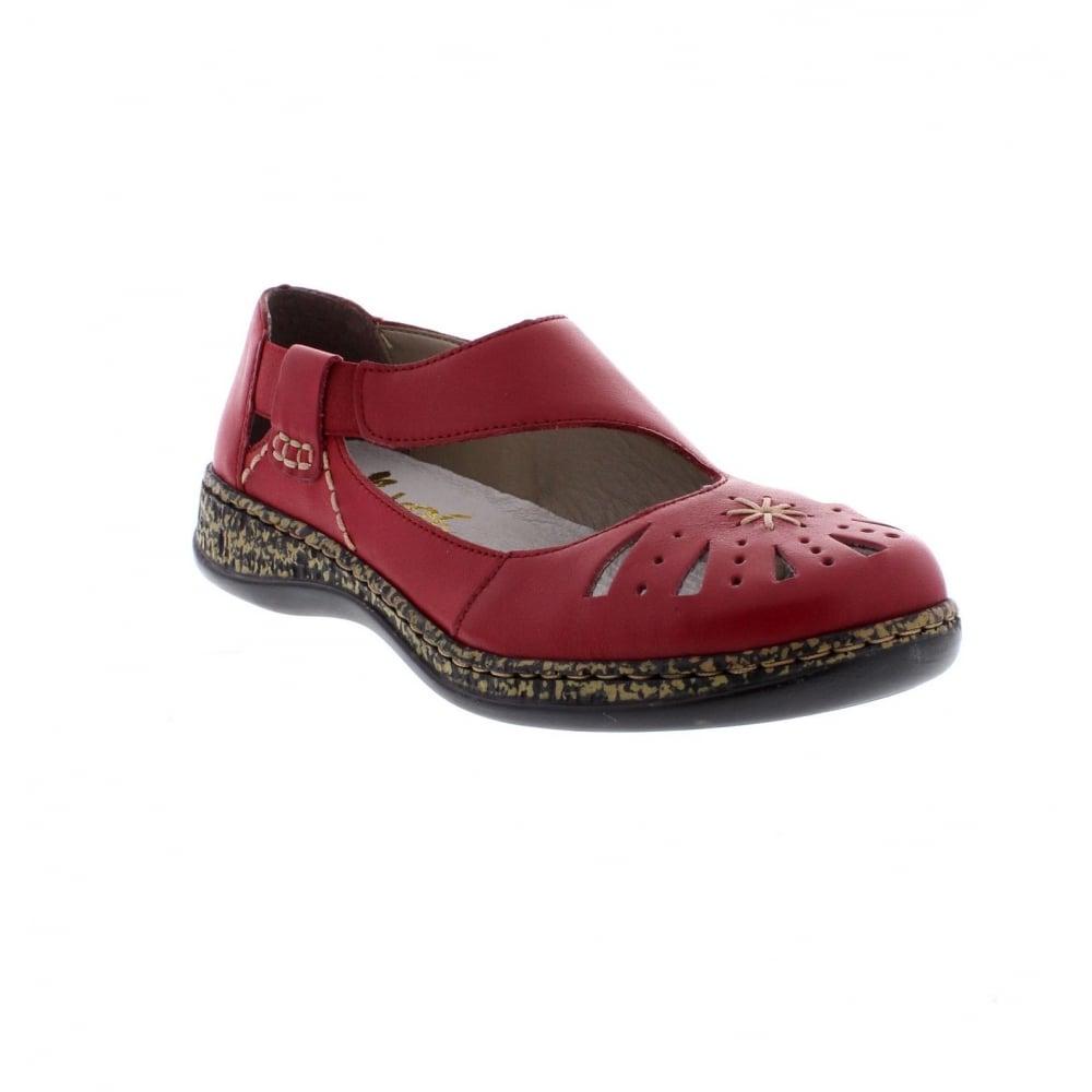 Rieker 46315 33 Ladies Slip On Shoes Rieker Ladies From