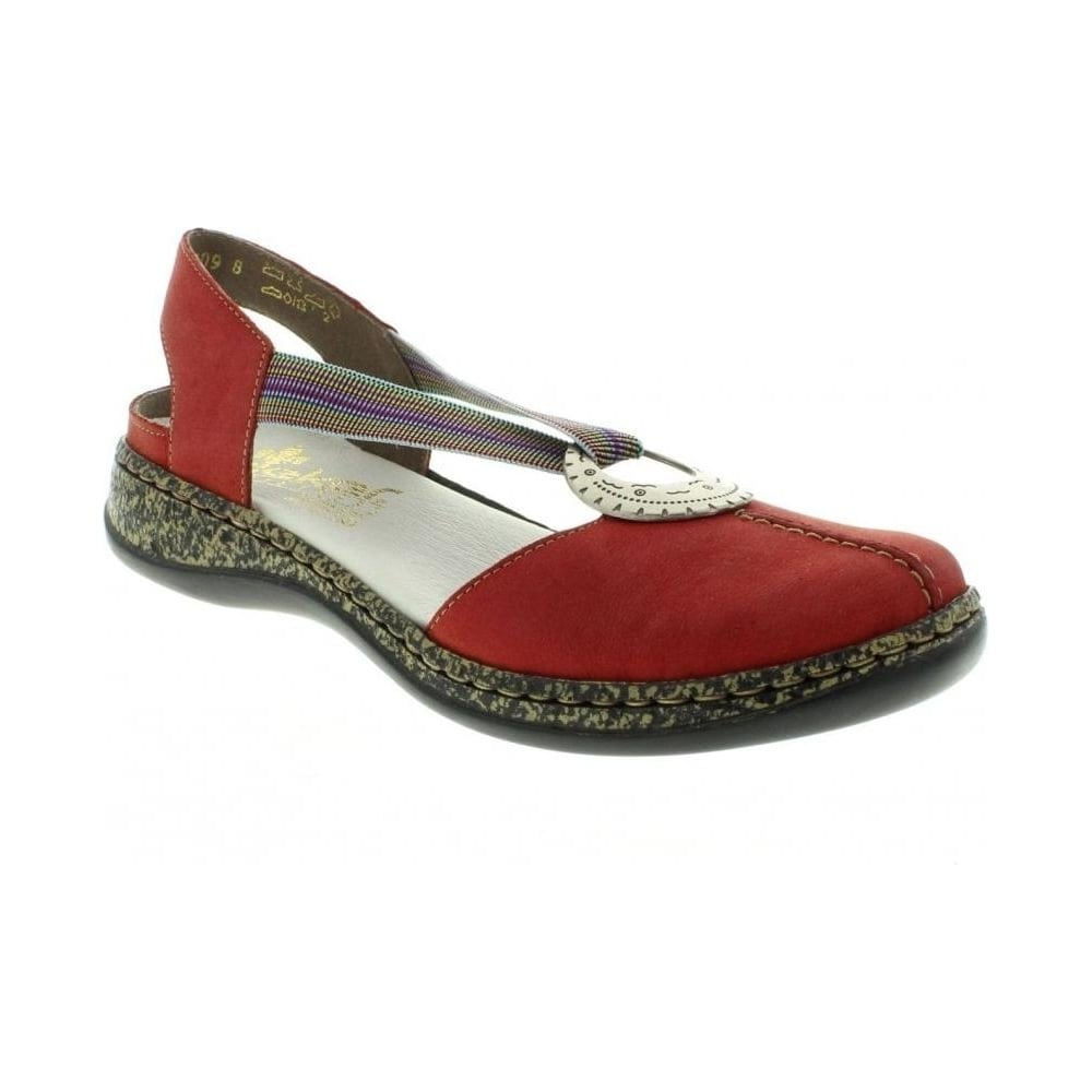 Rieker Red Shoes