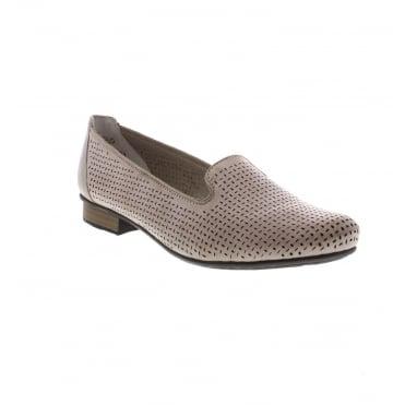 573276f62b7 Rieker 51977-40 Ladies Beige Shoes