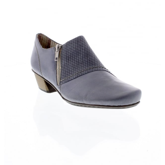 Rieker 53861-12 Ladies blue shoes