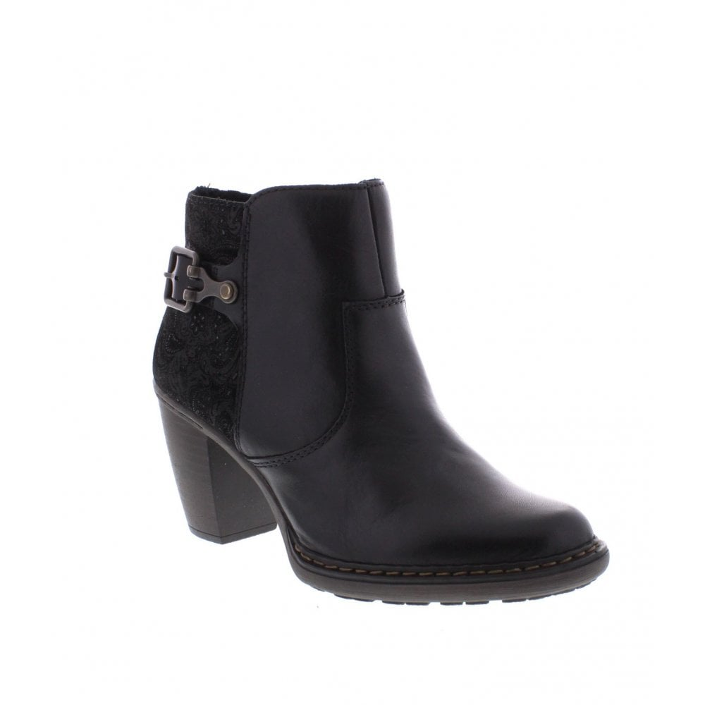 ab95cbd239 Rieker 55292-00 Ladies black ankle boots - Rieker Ladies from Rieker UK