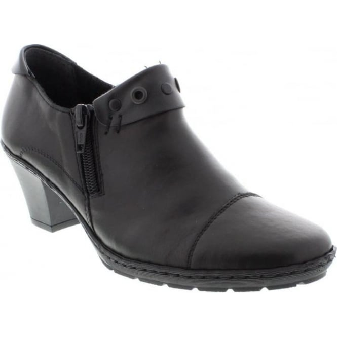 Rieker 57161-00 Ladies Black shoes