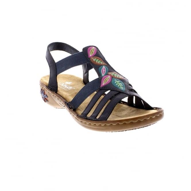 quality design b33dd 738d0 60171-14 Ladies Blue Sandals