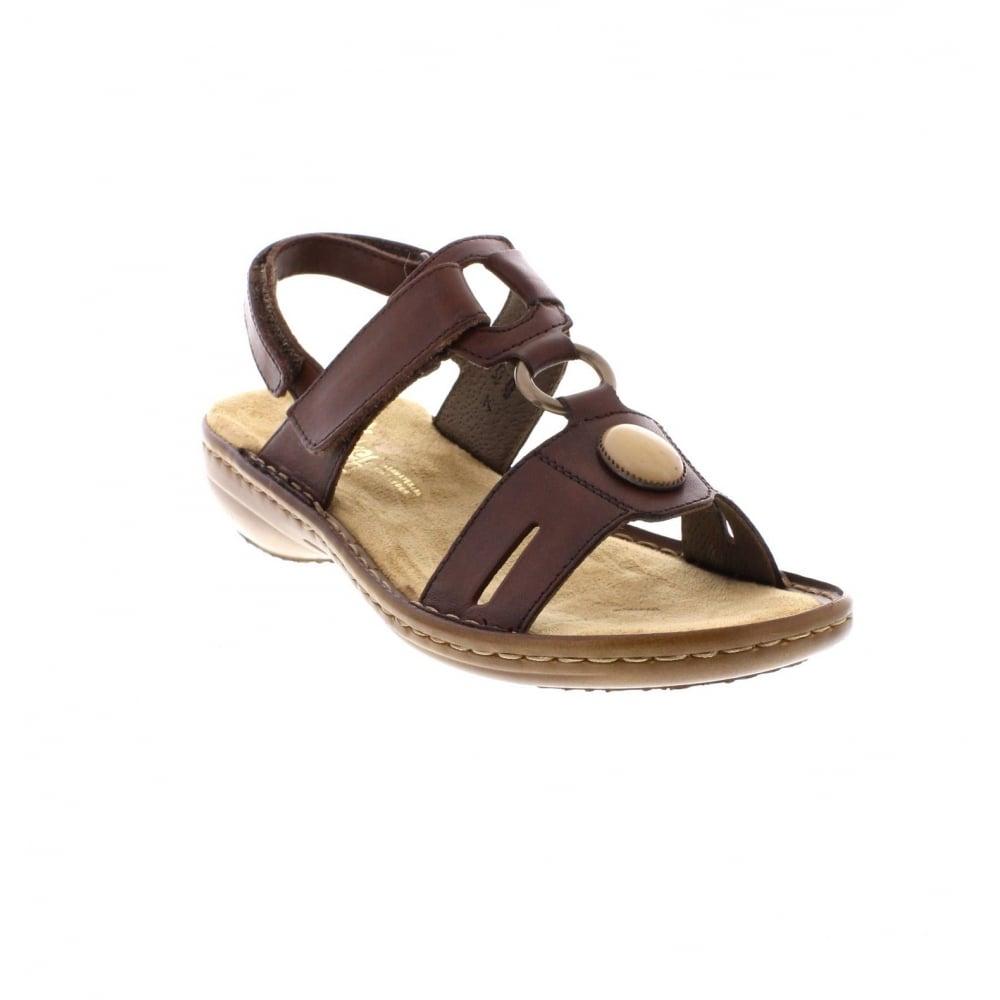 326cd128 Rieker 60874-26 Ladies Brown Sandals - Rieker Ladies from Rieker UK