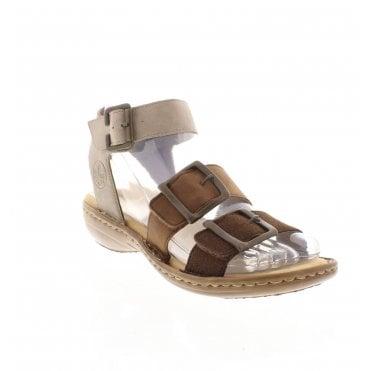Combination Ladies Sandals 608c3 25 Brown NnZ8OPkXw0