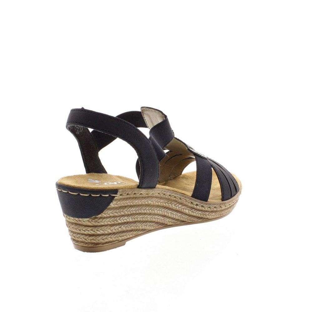 Dark Sandals Ladies 62459 Navy 14 c53j4AqRL