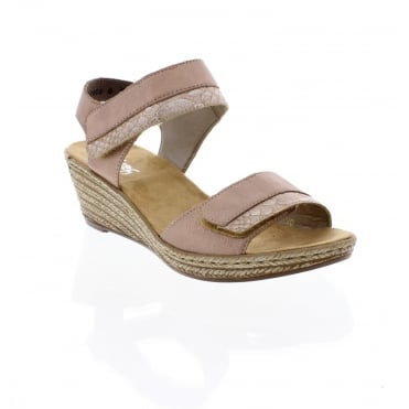 62470-31 Ladies sling back sandals