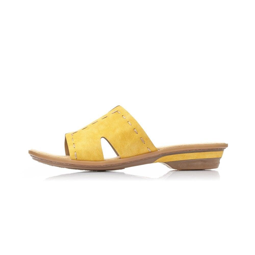 Rieker 63492-68 Ladies Yellow Slip On